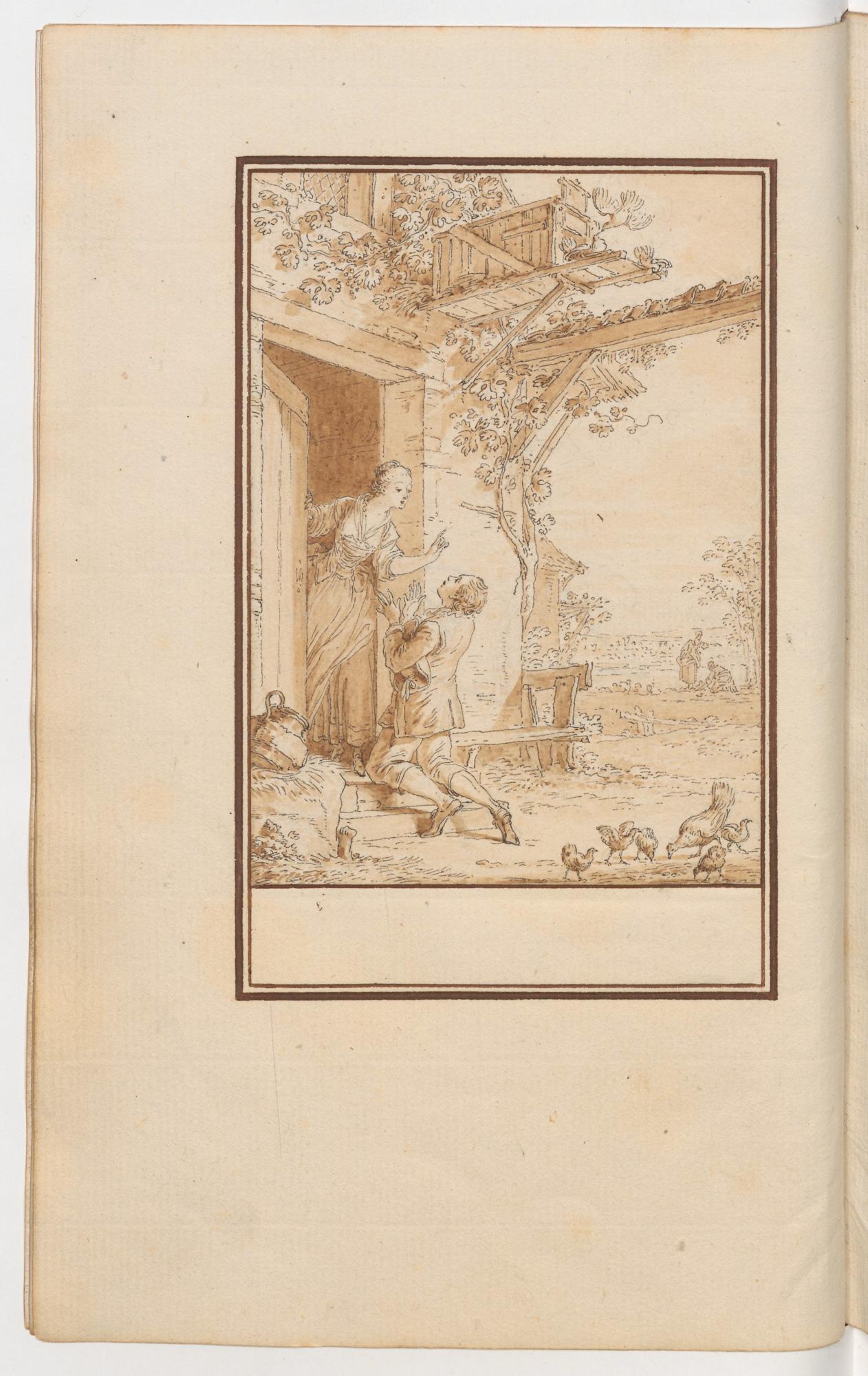 S.1.02 Les amours de Glicere et d'Alexis Image Chantilly
