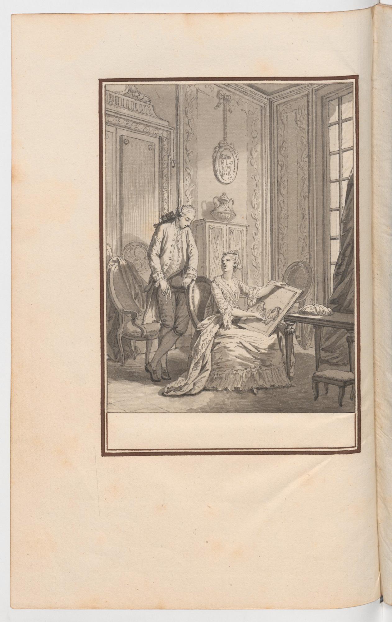 S.3.05 La leçon, Chantilly, Image