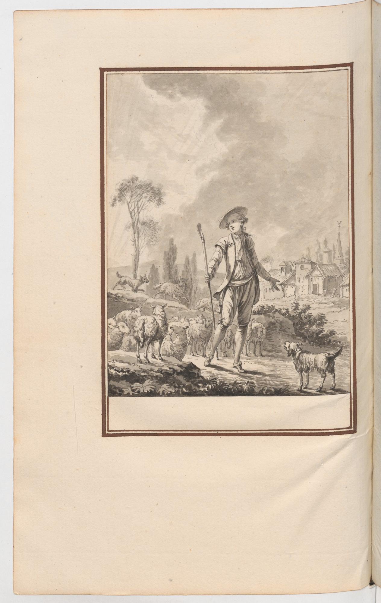 S.3.20 Le retour du berger, Chantilly, Image