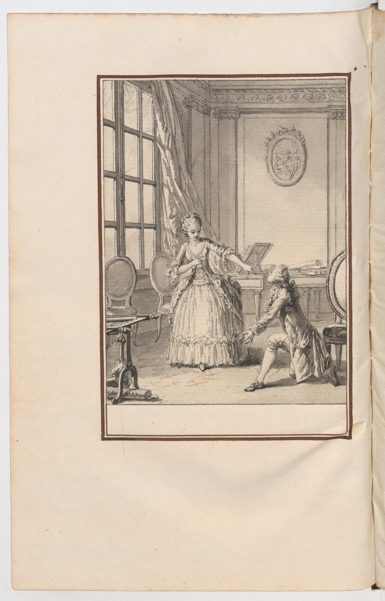S.4.16 La capricieuse, Chantilly, Image