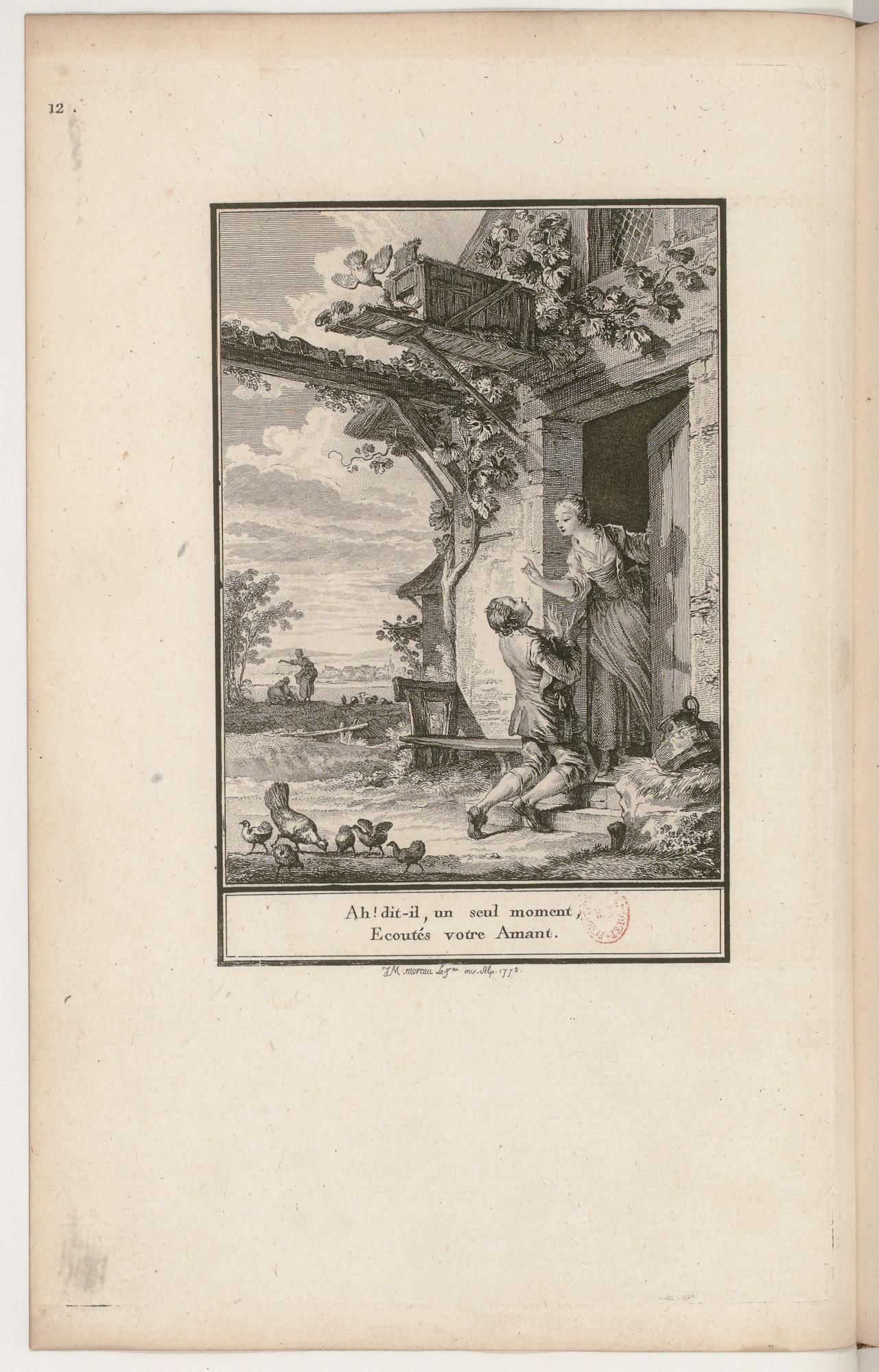 S.1.02 Les amours de Glicere et d'Alexis Image 1772
