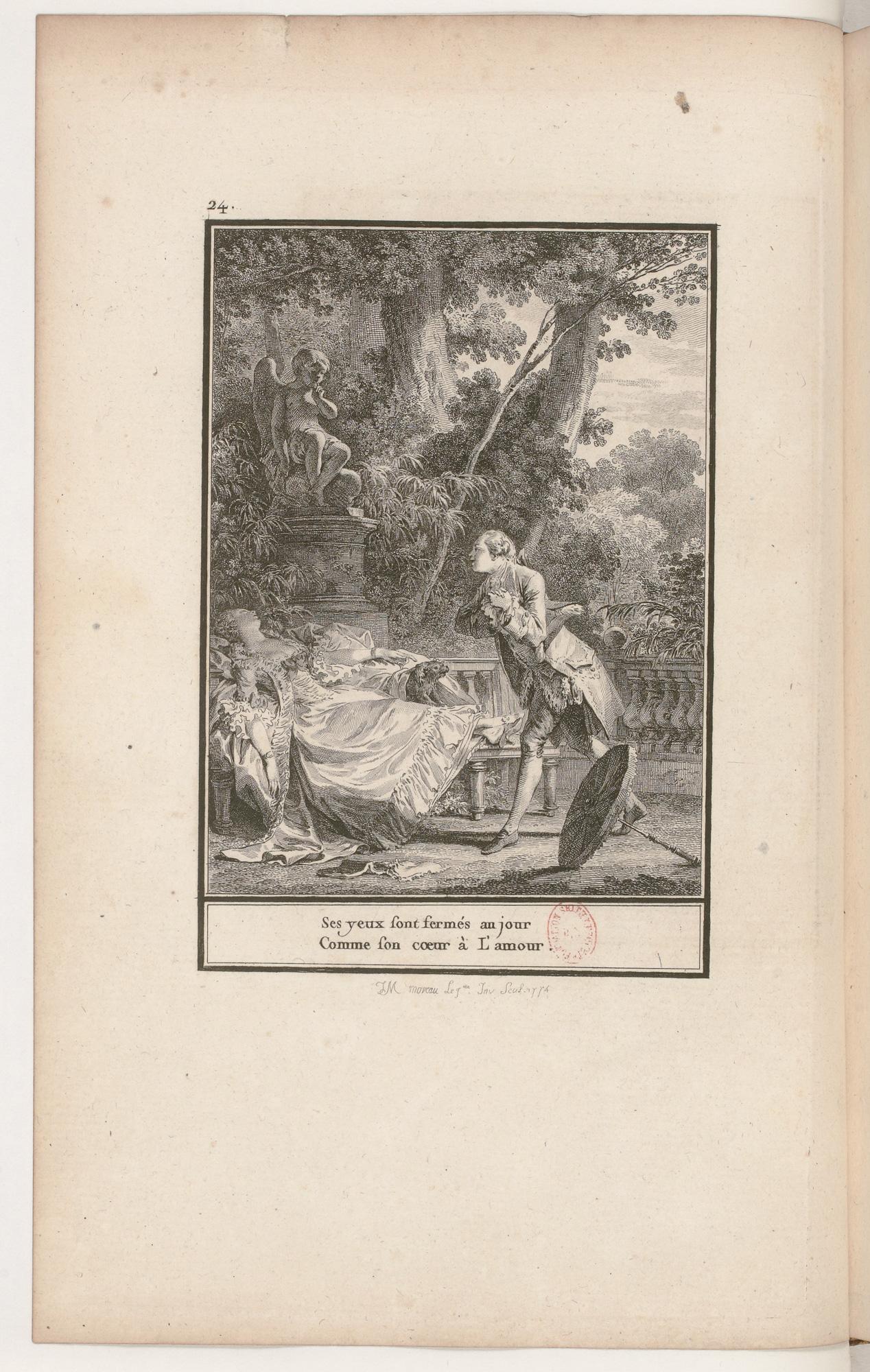 S.1.04 La dormeuse,1772, Image