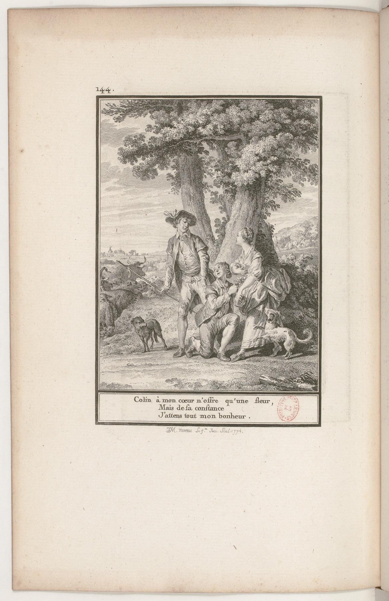 S.1.24 L'amant timide,1772, Image