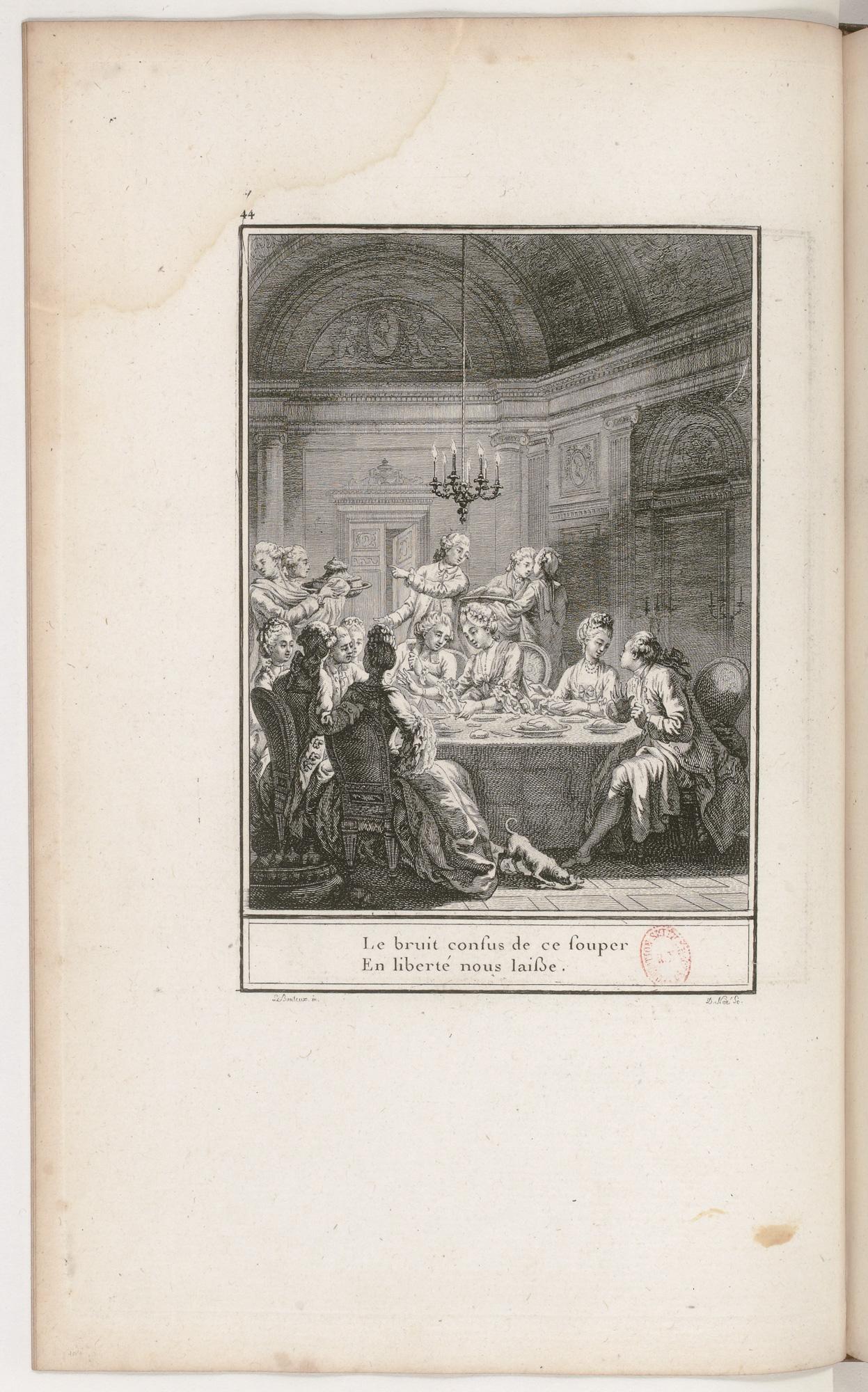 S.2.08 Le souper,1772, Image