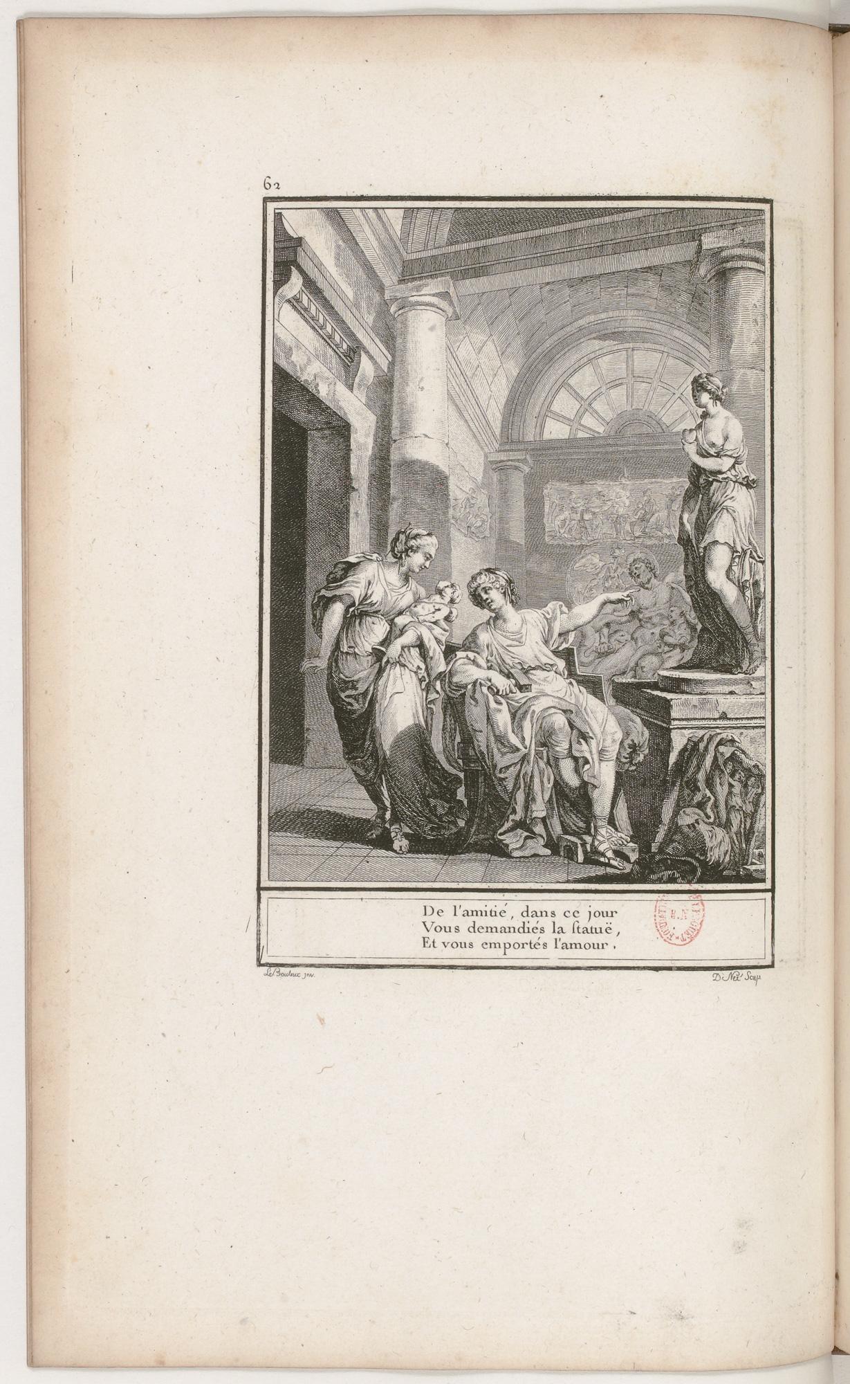 S.2.11 La statue de l'amitie,1772, Image