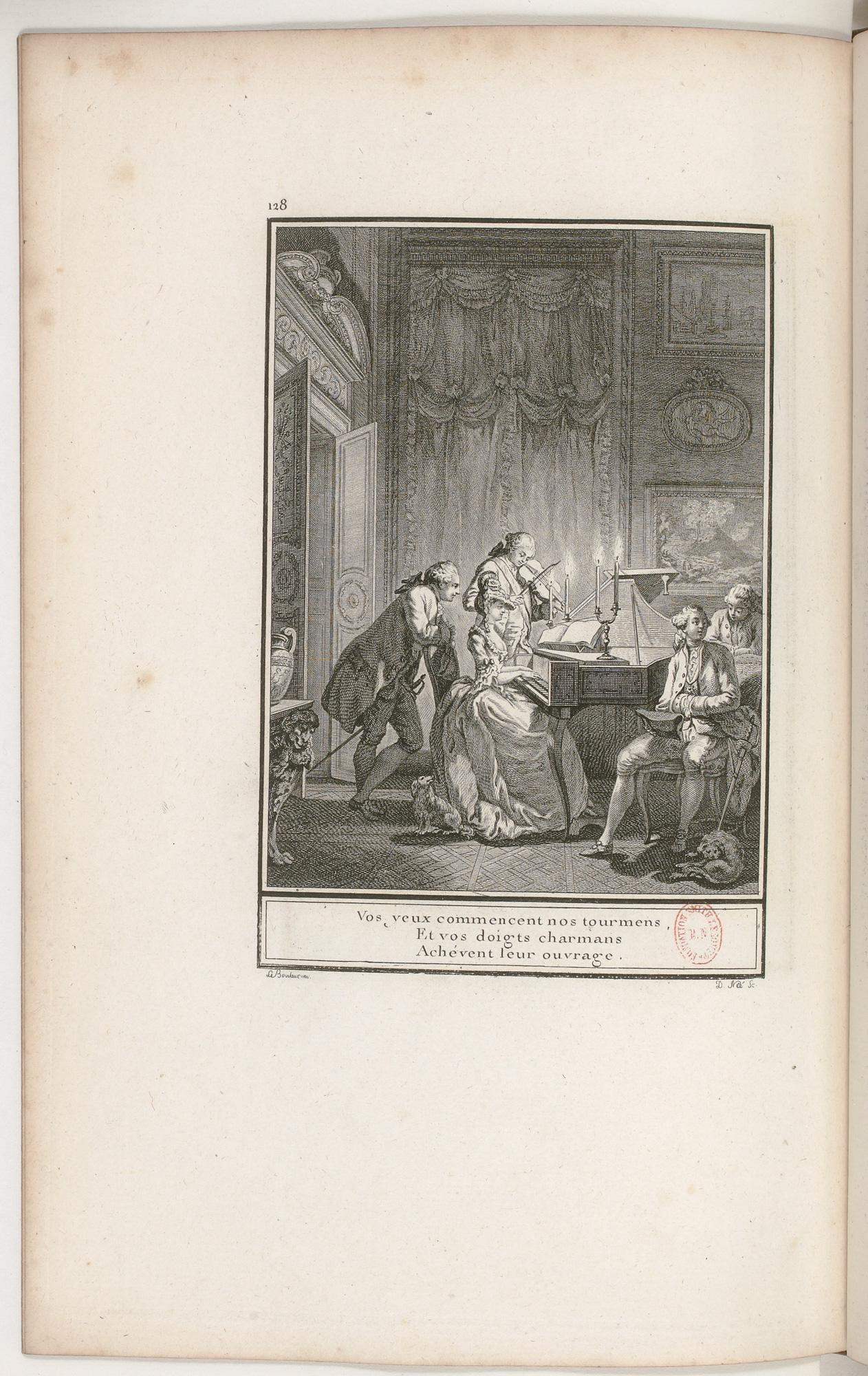 S.2.22 Le concert,1772, Image