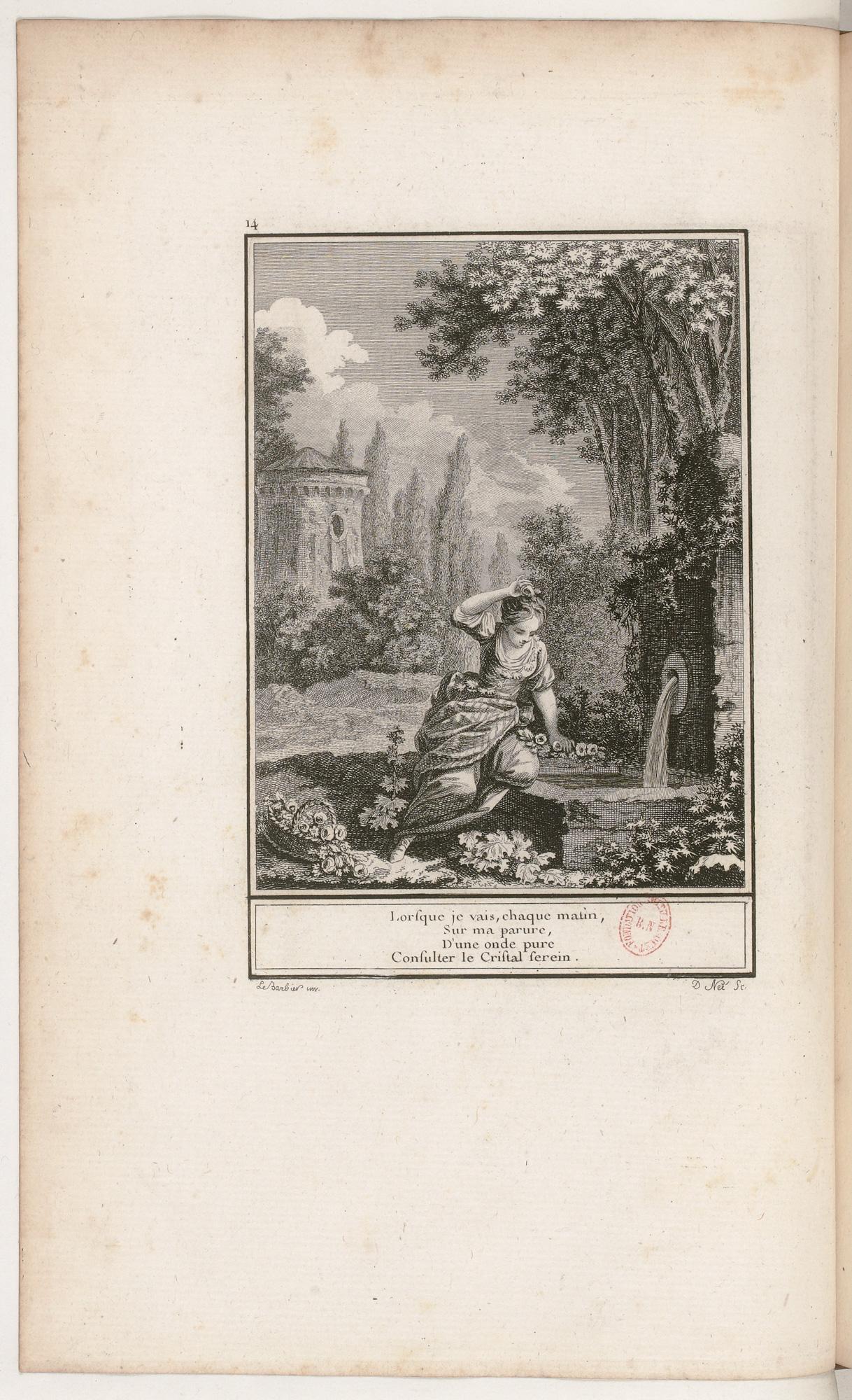 S.3.03 Le reproche mal fondé, 1772, Image