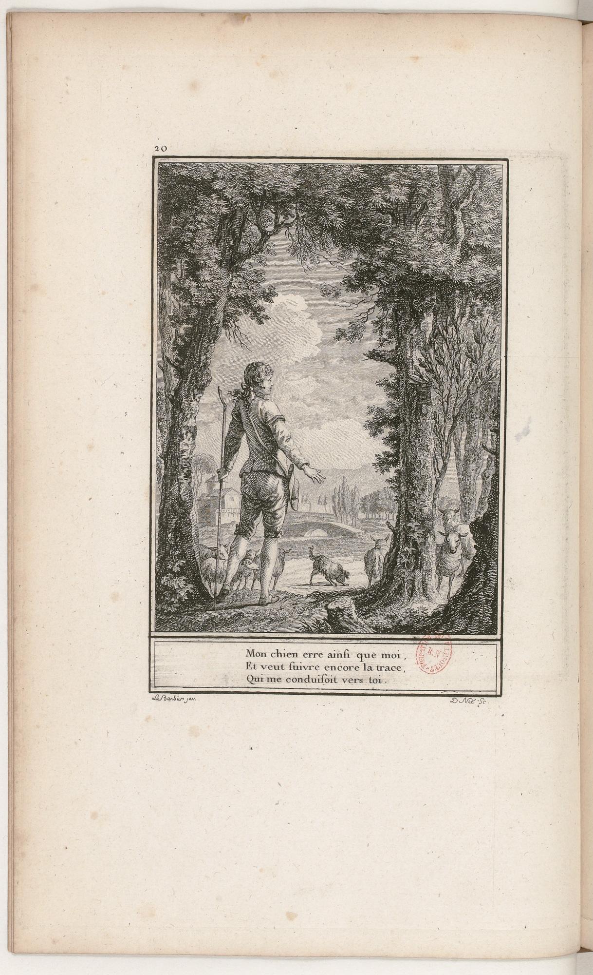 S.3.04 Le retour desiré, 1772, Image