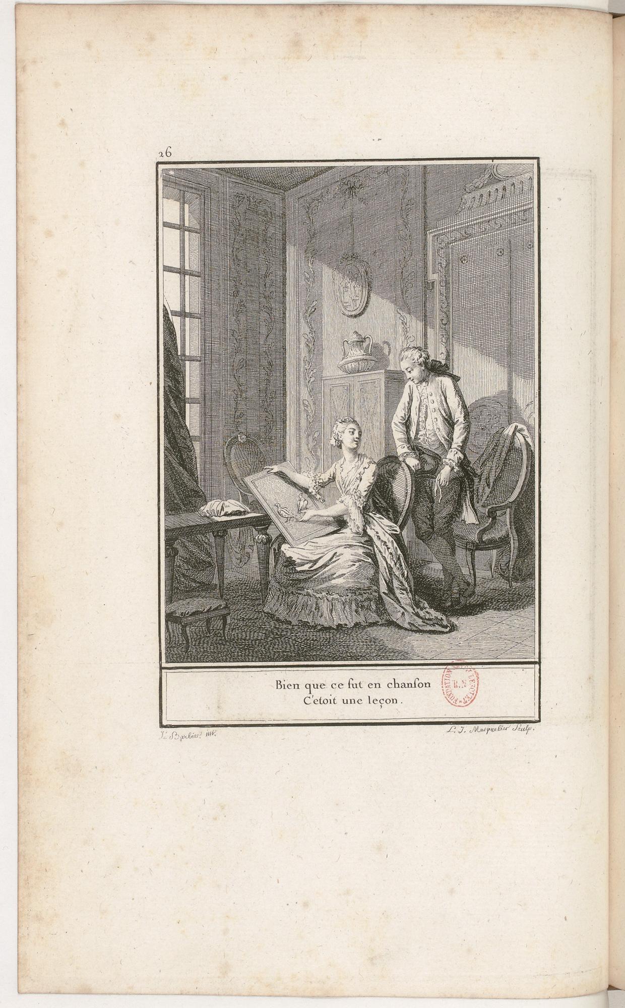 S.3.05 La leçon, 1772, Image