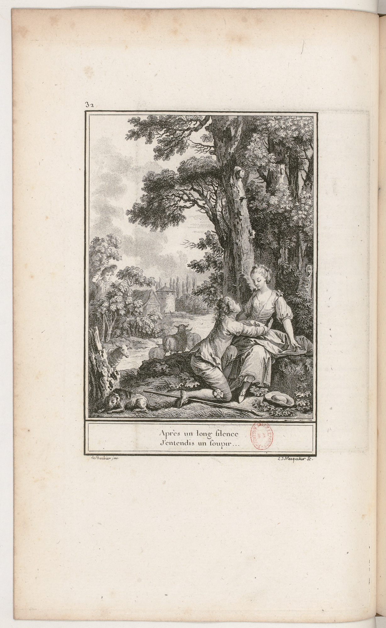 S.3.06 L'heureuse plainte, 1772, Image