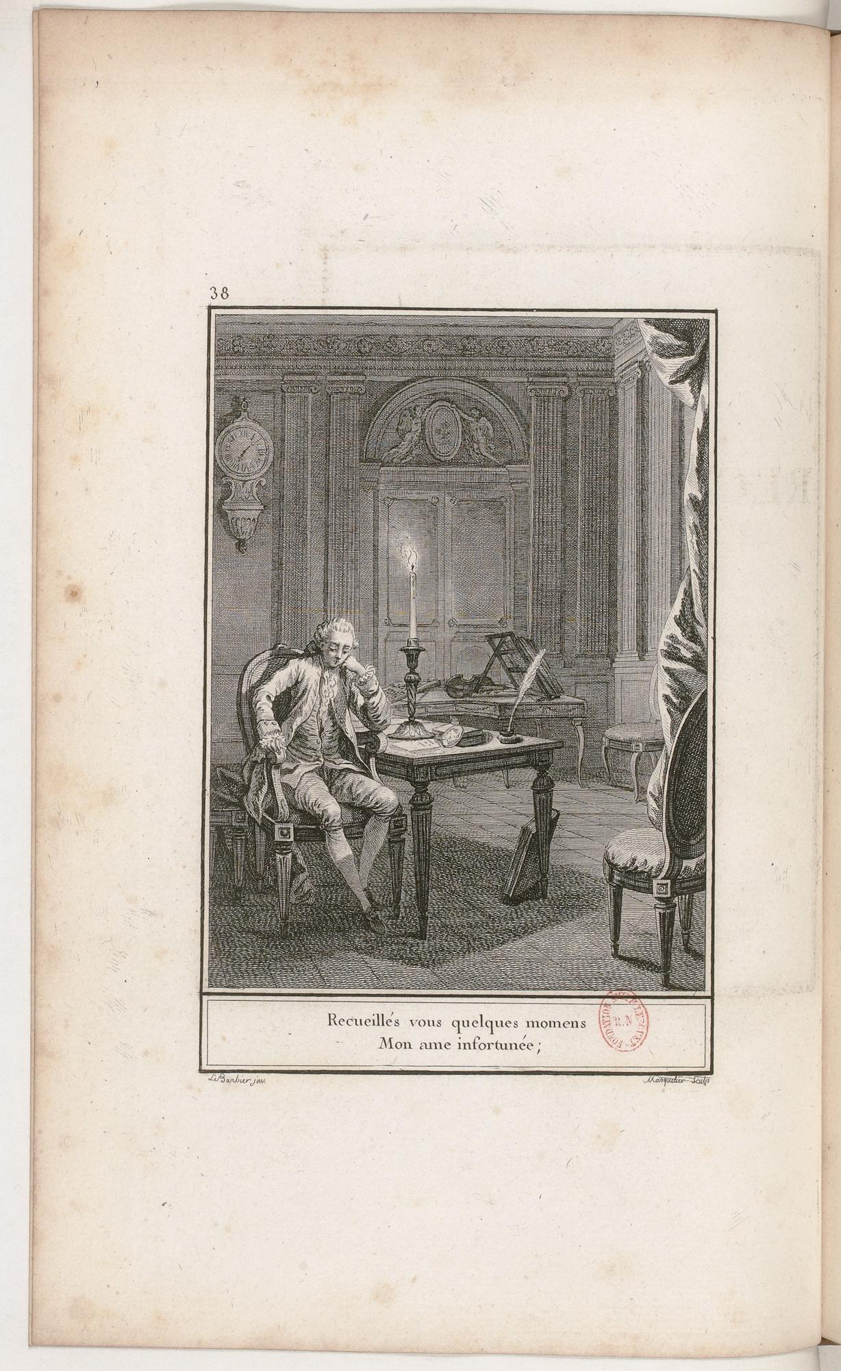 S.3.07 Le recuëillement, 1772, Image