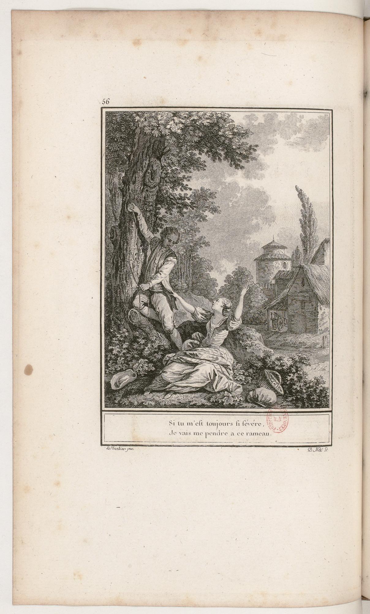 S.3.10 L'heureuse menace,1772, Image