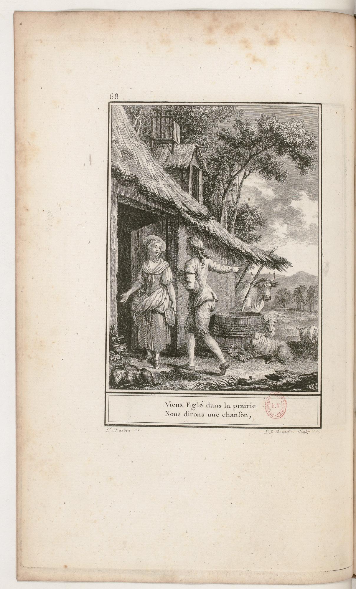 S.3.12 La leçon offerte, 1772, Image