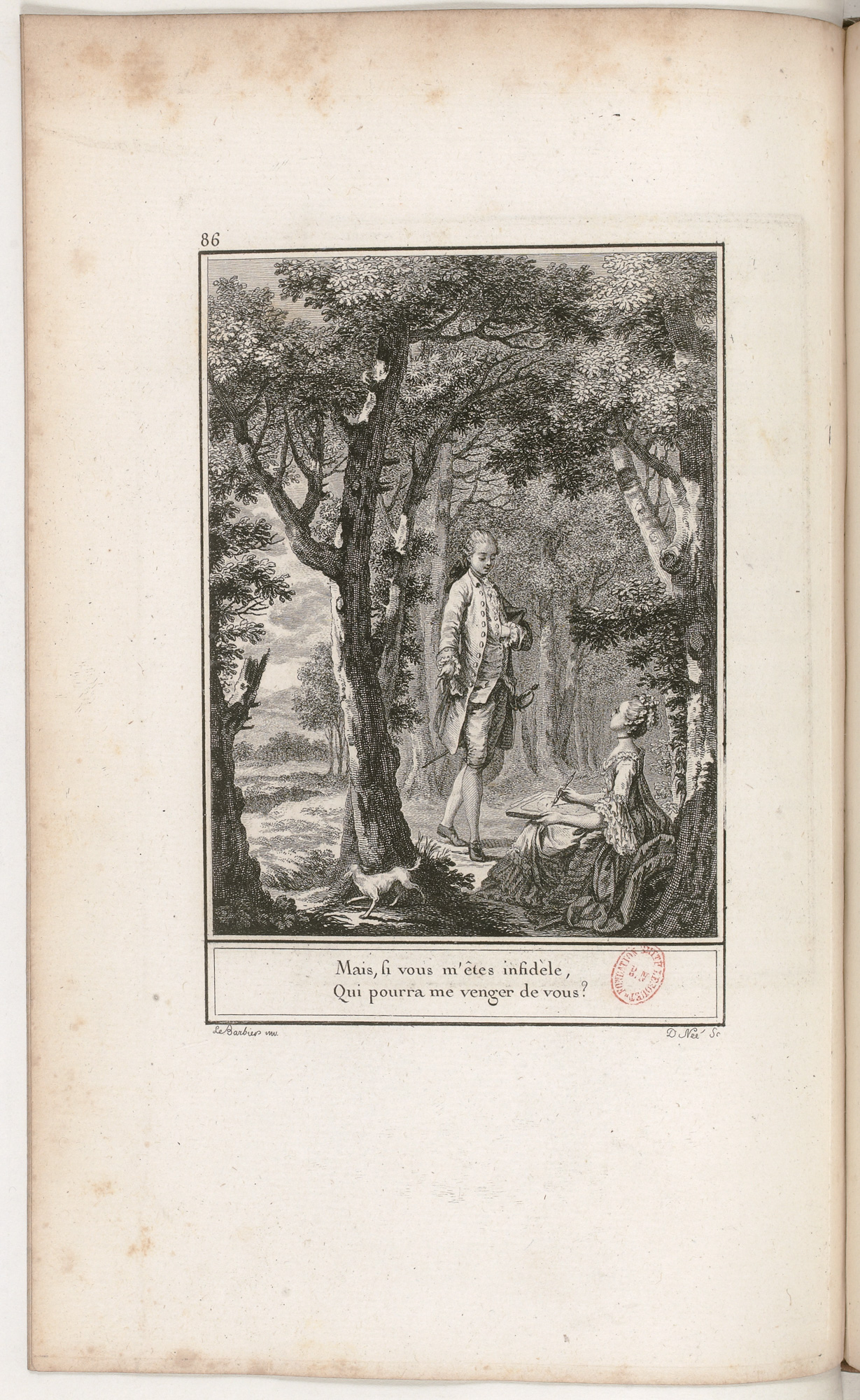 S.3.15 La vengeance impossible, 1772, Image