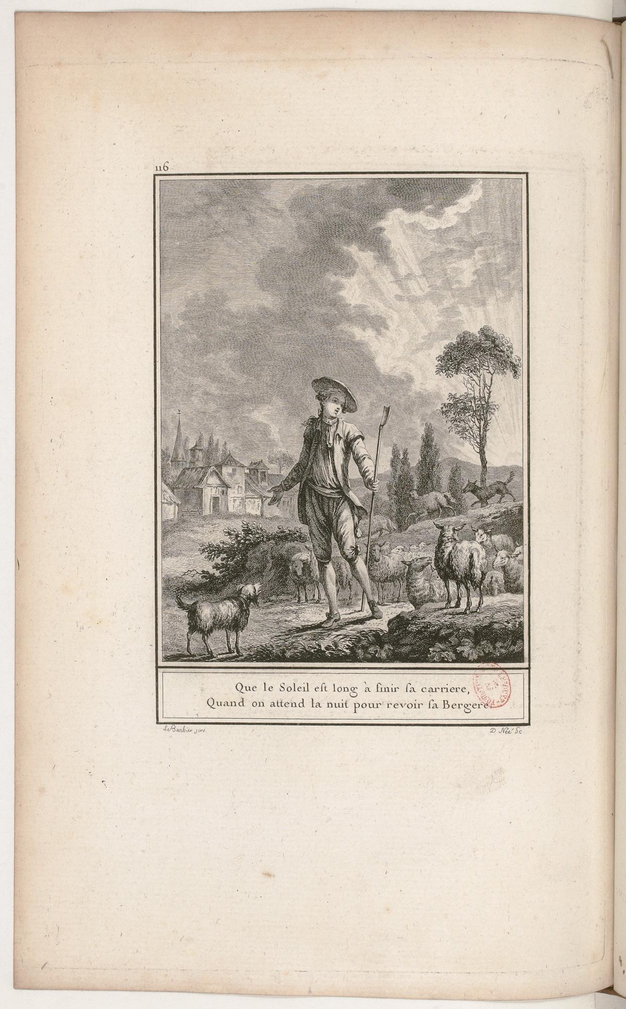 S.3.20 Le retour du berger,1772, Image