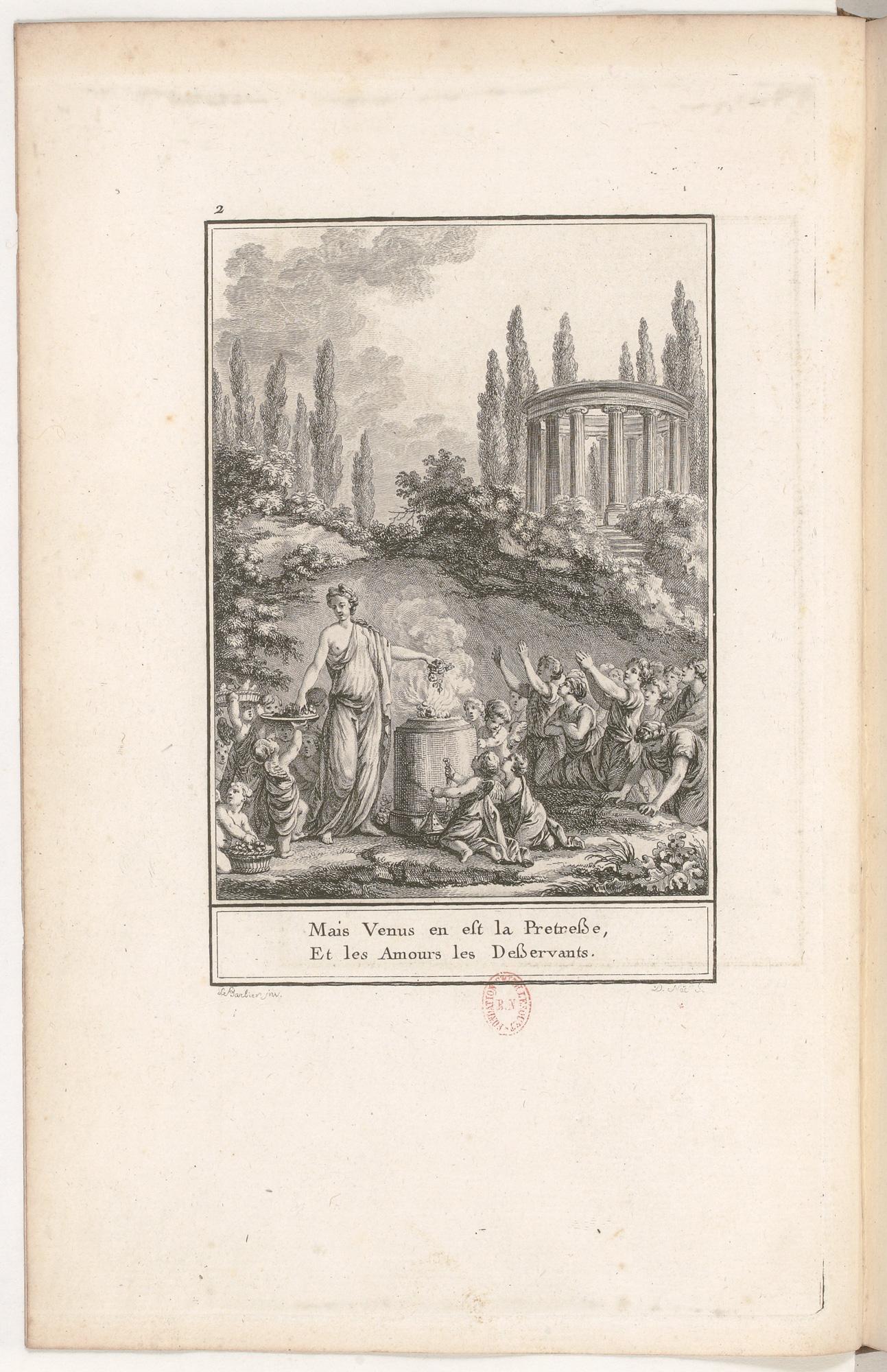 S.4.01 La chapelle de Vénus, 1772, Image