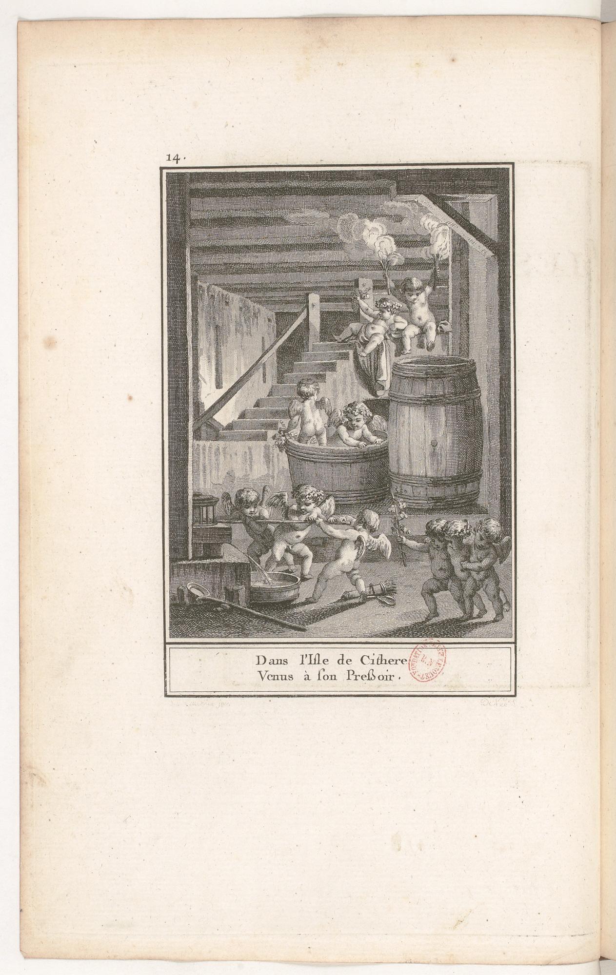 S.4.03 Les vendanges de Cythere, 1772, Image
