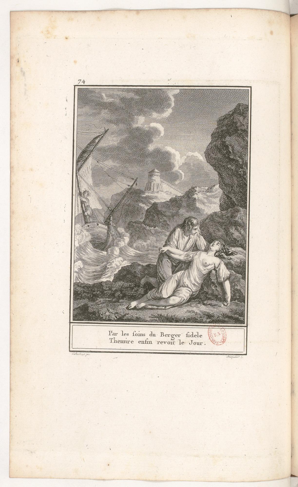 S.4.13 L'heureux naufrage,1772, Image