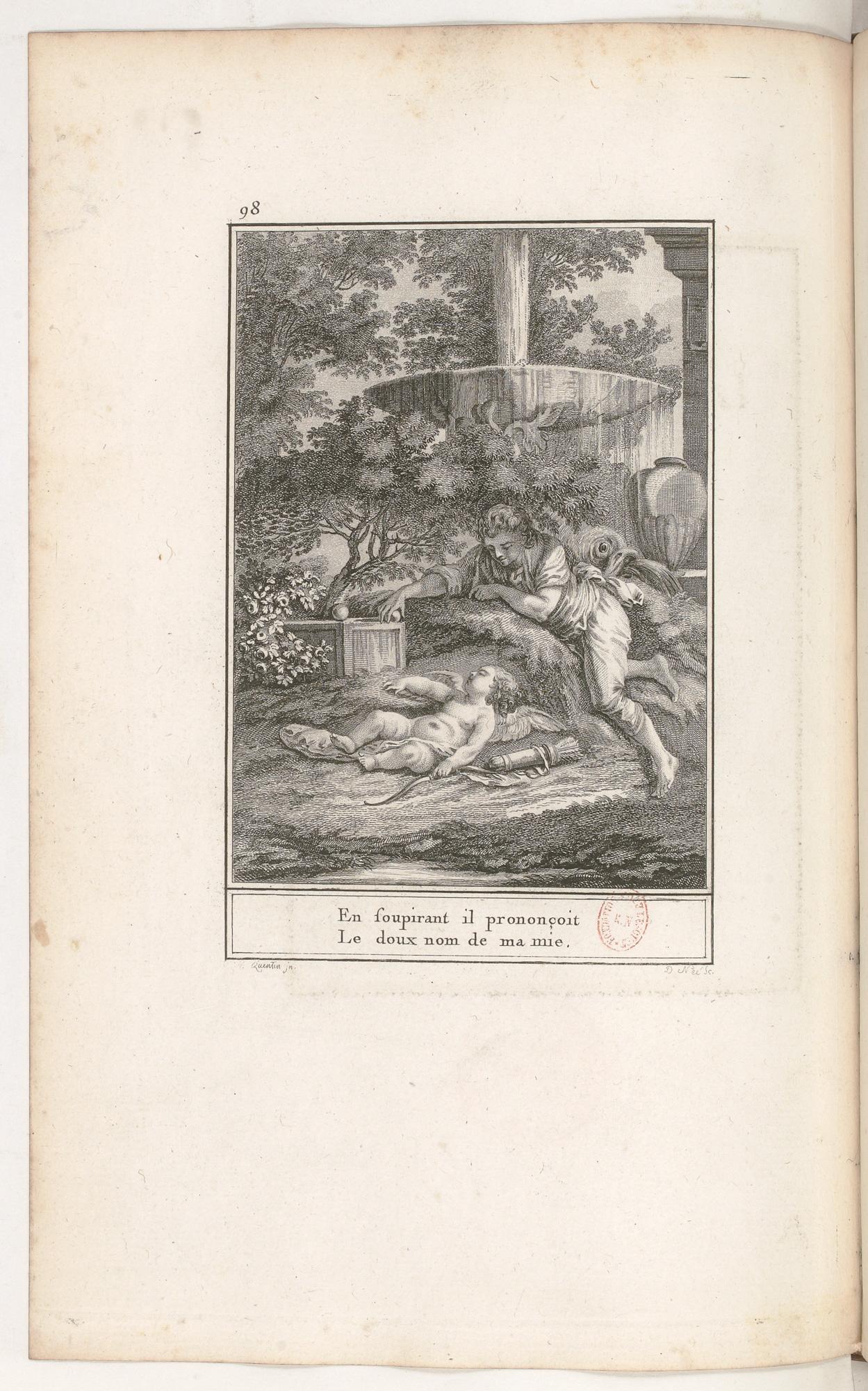 S.4.17 Le sommeil de l'amour, 1772, Image
