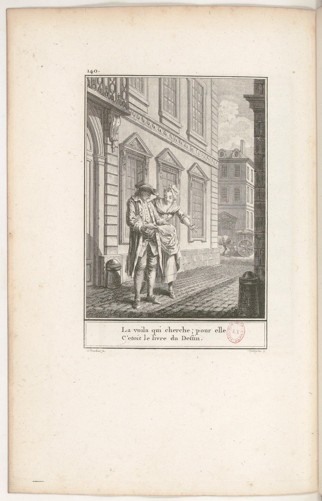 S.4.24 L'heureuse loterie, 1772, Image